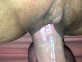 Fucking my wifes mom hard in tight wet Pussy