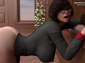 My Cute Roommate Mom gets stuck and fucked in her horny wet pussy My sexiest gameplay moments Part #10