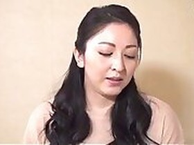 Beautiful Japanese Mom Takes A Load all over her big Titts